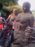 The Art 13 (3 Mojang Statues)